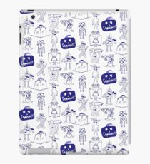 Community Halloween repeat pattern. iPad Case/Skin