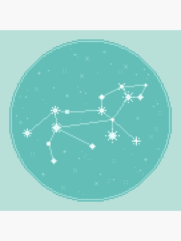 8Bit Constellations:  Leo by sp8cebit
