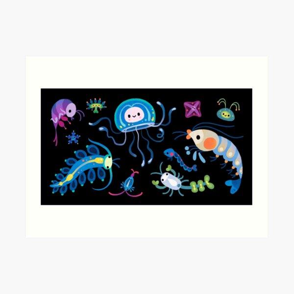 Zooplankton Art Print