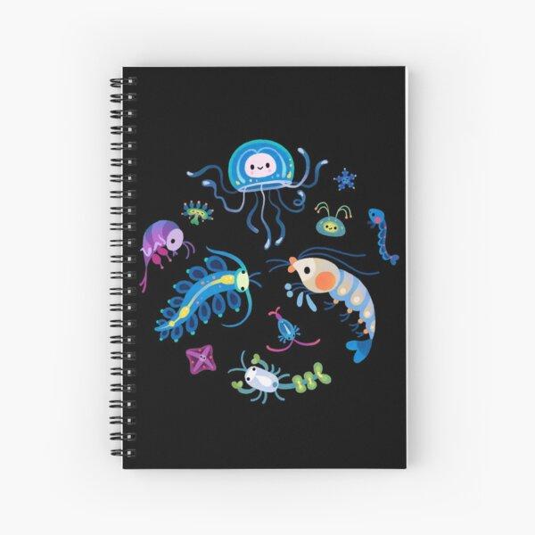 Zooplankton Spiral Notebook