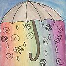 Watercolor Sweet Rain by caseykayb