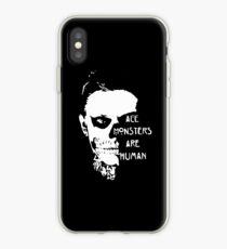 scary ever skull iPhone Case