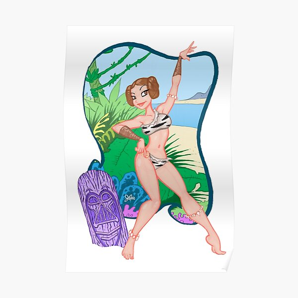 Adventures of the Princess on Tiki-6 Poster