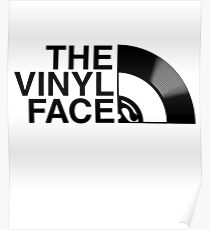 The Vinyl Face Poster
