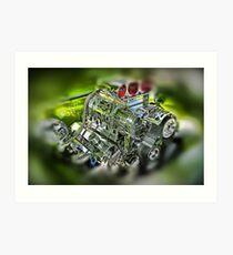 Blown Engine in a Pontiac Firebird Nó:1 Art Print