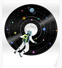 Space Record Poster