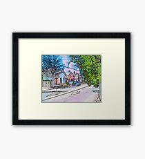 Maxwell Framed Print
