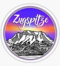 Zugspitze mountain landscapes Germany Sticker