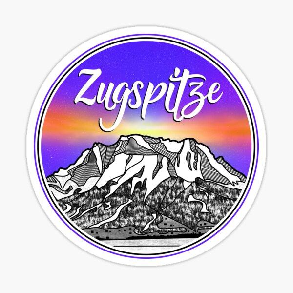 Zugspitze Berglandschaften Deutschland Sticker