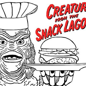 Creature from the Snack Lagoon by thePHR