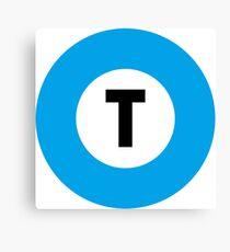 東京メトロ 東西線ロゴ -Tokyo Metro Tozai Line logo- Canvas Print