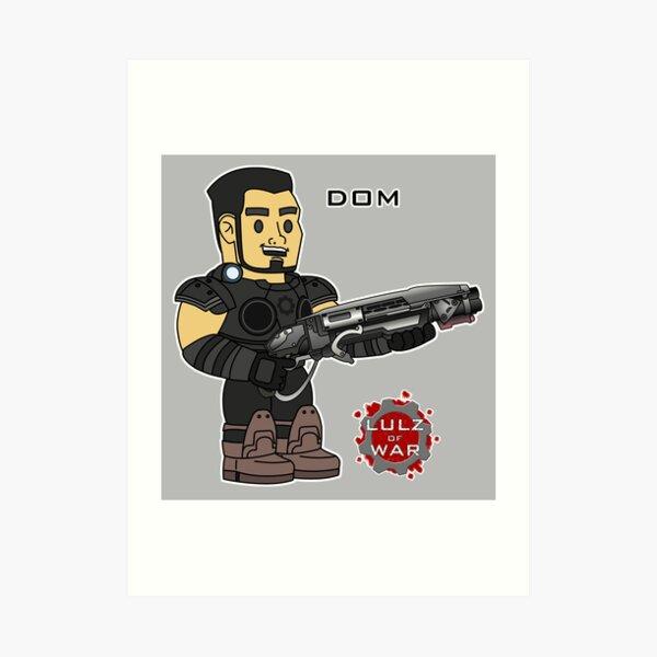 Lulz Of War: Dom Art Print