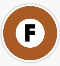 東京メトロ 副都心線ロゴ -Tokyo Metro Fukutoshin Line logo- Sticker