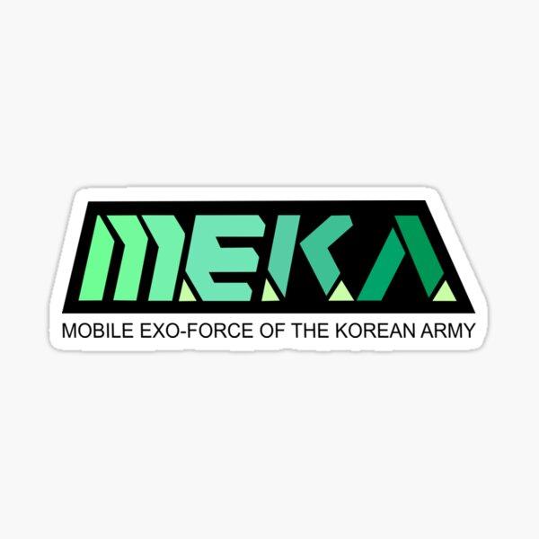 MEKA Logo Sticker