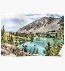 First Lake-Big Pine Creek Poster