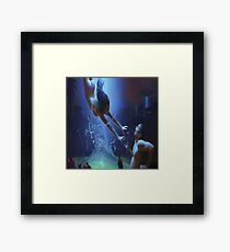 Abduction Woman Framed Print