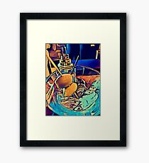 """Martini Madness """"Humble Beginnings"""" By Tony DuPuis Framed Print"""