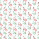 Spring Flamingo by wallpaperfiles