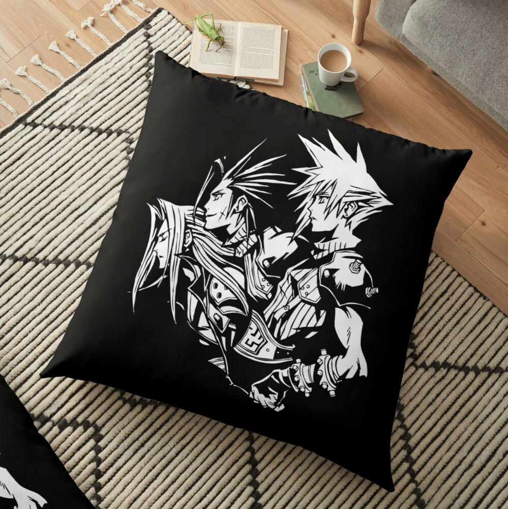 Final Fantasy VII Crisis Core Floor Pillow