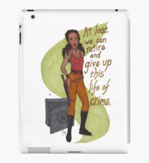 Zoe Washburne, Outlaw Extraordinaire iPad Case/Skin