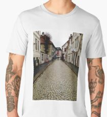 Rainy Day Bergen Men's Premium T-Shirt