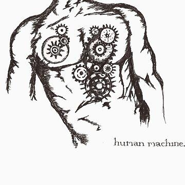 Human Machine by elwilliams