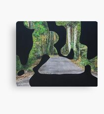 Gold Coast Hinterland Landscape modern abstract Canvas Print