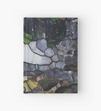 Horseshoe Falls Tasmainia Landscape modern abstract Hardcover Journal