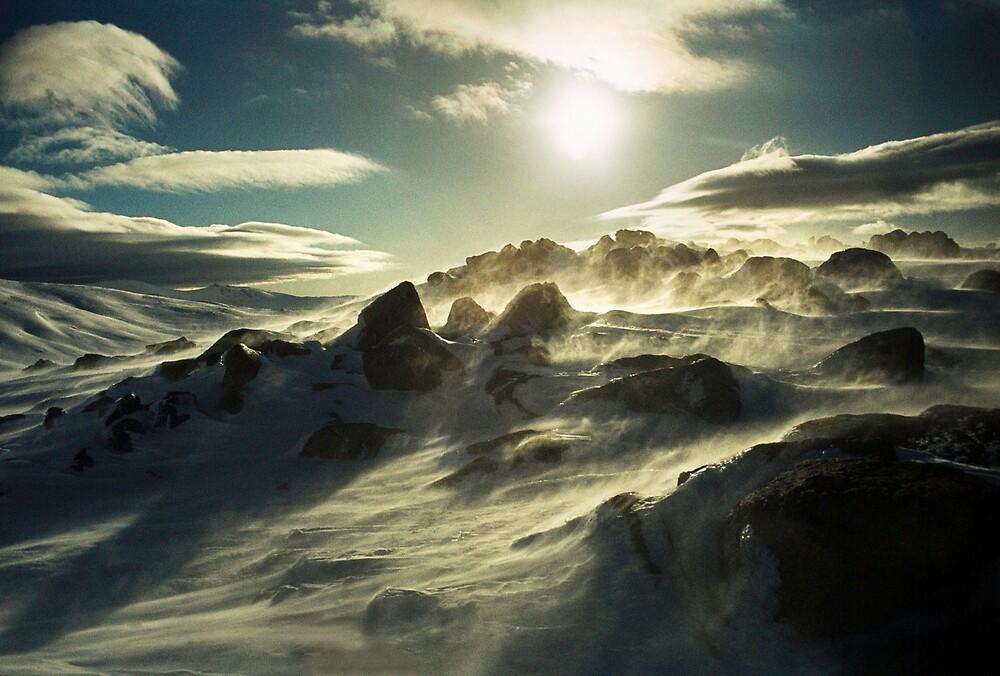 Winter storm, Mt. Kosciusko by Kevin McGennan