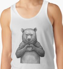 Bear with love Tank Top