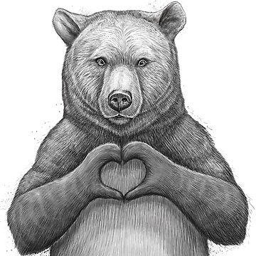 Bear with love by NikKor