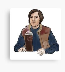 Silicon Valley Bighead Canvas Print