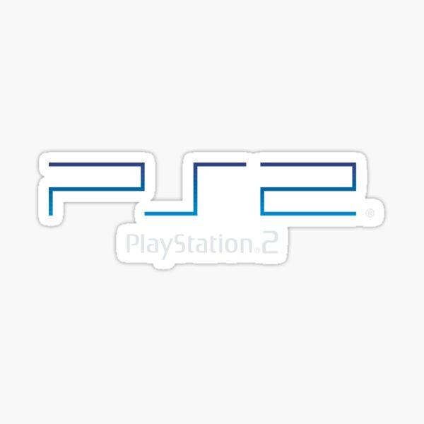 PS2 Logo Light Sticker