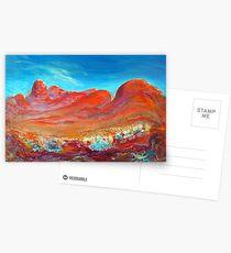 Kata Tjuta.  Australia Postcards