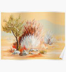 Lenore's Desert Poster