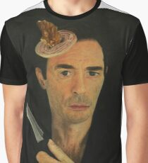 Doug Moran Semi Finalist painting Self Portrait of an artist Graphic T-Shirt