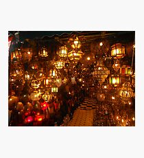 Moroccan lights Photographic Print