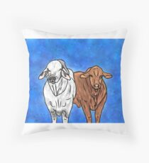 The Best in the West Throw Pillow