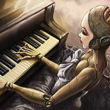 Automatic Pianist by psychee