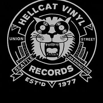 Hellcat Vinyl Records  by ARRYAKIM