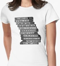 B'99 Sex Tapes Women's Fitted T-Shirt