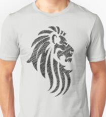 Lion Tribal Tattoo Style Distressed Design  T-Shirt