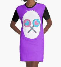 Sharing is Caring Graphic T-Shirt Dress