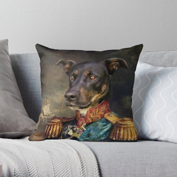 Dog Portrait - Arlo Throw Pillow