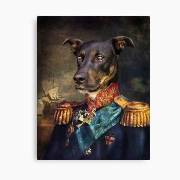 Dog Portrait - Arlo Canvas Print