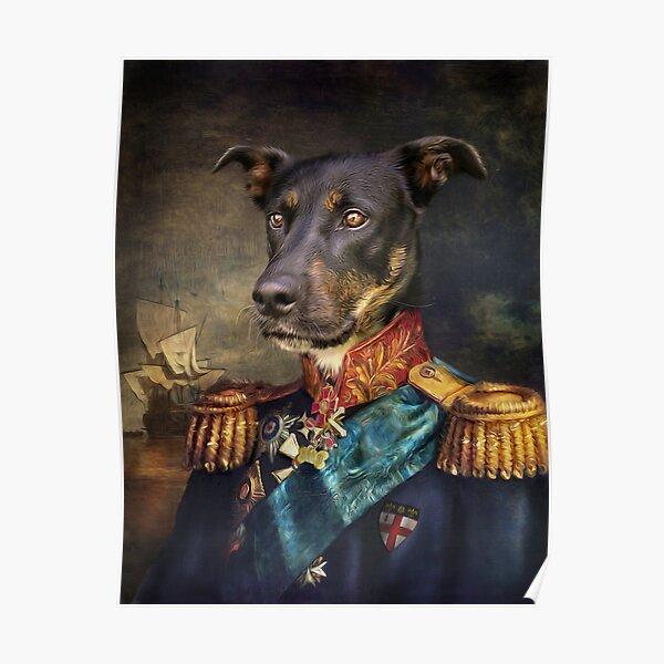 Dog Portrait - Arlo Poster