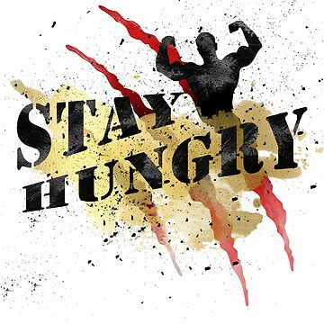 Stay Hungry Gold Winner Red Claws #04 by DennsDesign