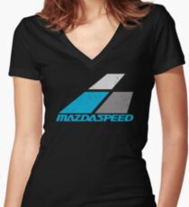 Mazdaspeed Women's Fitted V-Neck T-Shirt