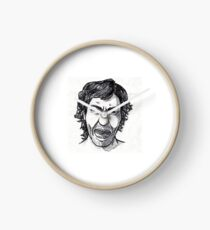 Alexandre Marcovich (Angry Face) Clock