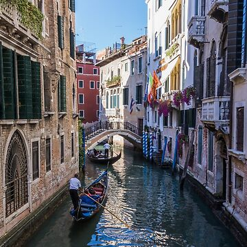 Gondola in Venice by Rexel99